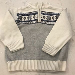 Gymboree sweater, toddler boy 3T